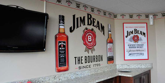 Jim Beam Suite Completion Photo
